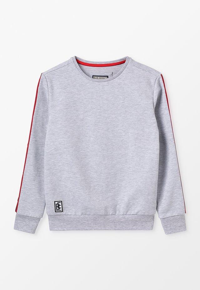 BOYS  - Sweater - hell grau melange