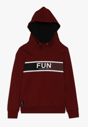 BOYS HOODIE FUN - Sweat à capuche - winterrot reactive