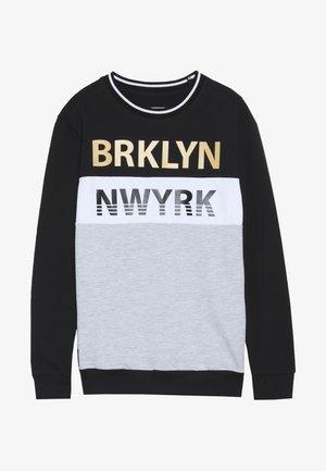 BOYS BRKLN NWYRK - Sudadera - schwarz reactive