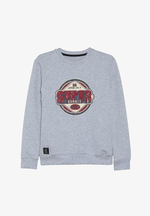 BOYS SUPER - Sweatshirt - hellgrau melange
