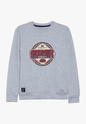 BOYS SUPER - Sweater - hellgrau melange