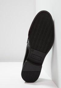 Ben Sherman - SPRING - Nazouvací boty - black - 4