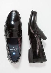 Ben Sherman - SPRING - Nazouvací boty - black - 1