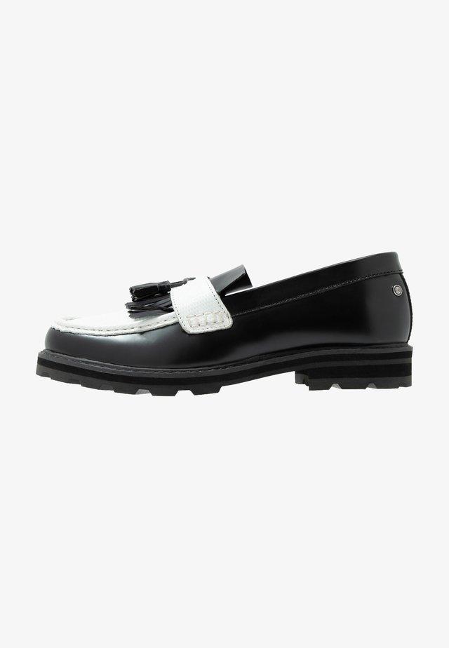 HYDE - Slipper - black/white