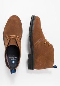 Ben Sherman - HUNTER - Sznurowane obuwie sportowe - tan - 1