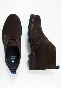 Ben Sherman - HUNTER - Sznurowane obuwie sportowe - choc - 1