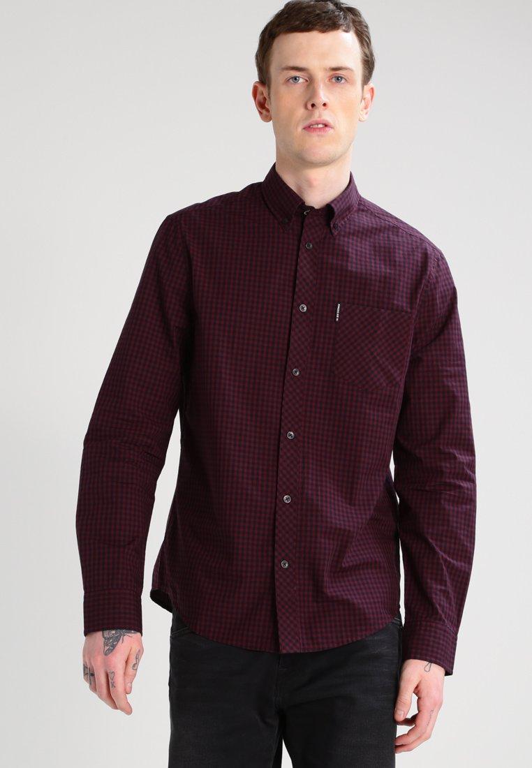 Ben Sherman - Overhemd - dark plum