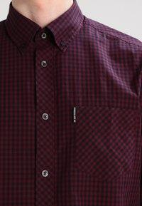 Ben Sherman - Overhemd - dark plum - 3