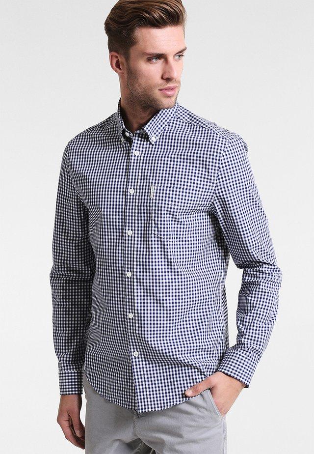 CORE GINGHAM  - Shirt - dark blue