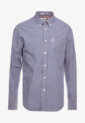 CORE GINGHAM  - Shirt - dark blue