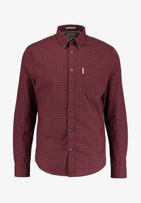 Ben Sherman - CORE GINGHAM - Overhemd - burgundy - 5
