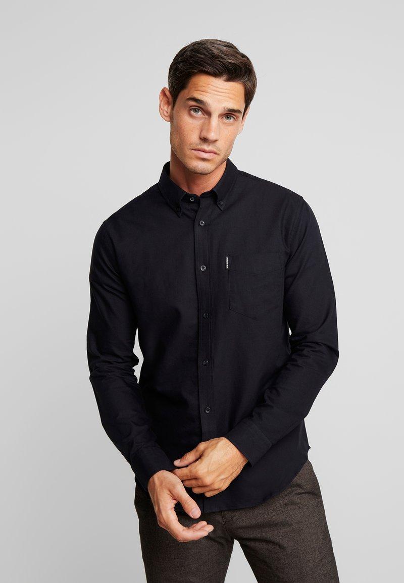 Ben Sherman - OXFORD  - Skjorter - barely black