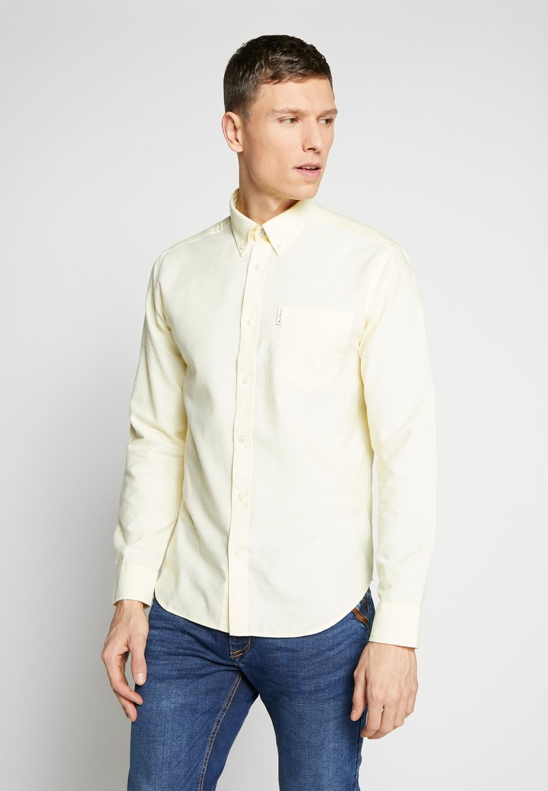 Ben Sherman - SIGNATURE OXFORD SHIRT - Shirt - yellow