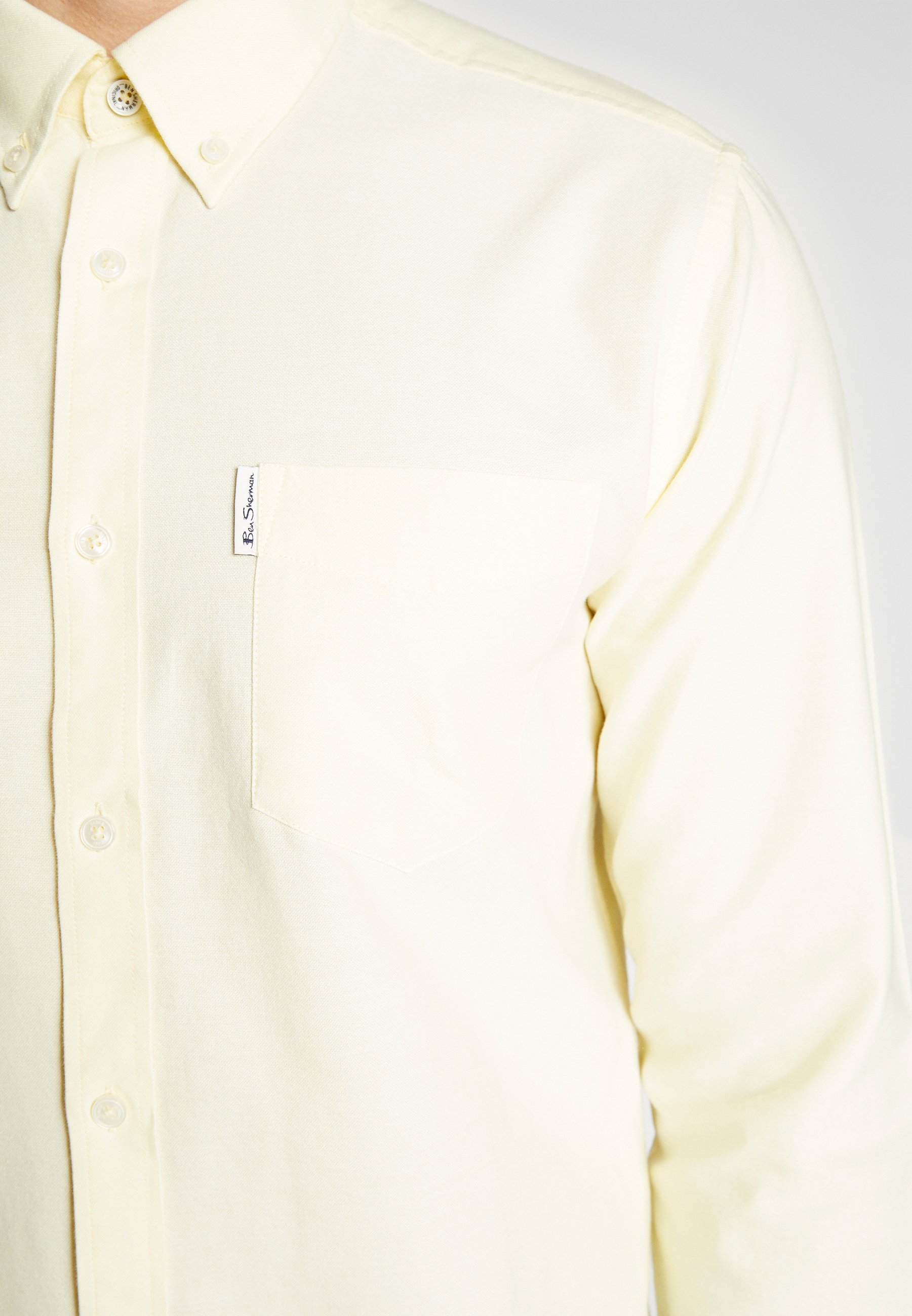 Ben Sherman SIGNATURE OXFORD SHIRT - Chemise - yellow