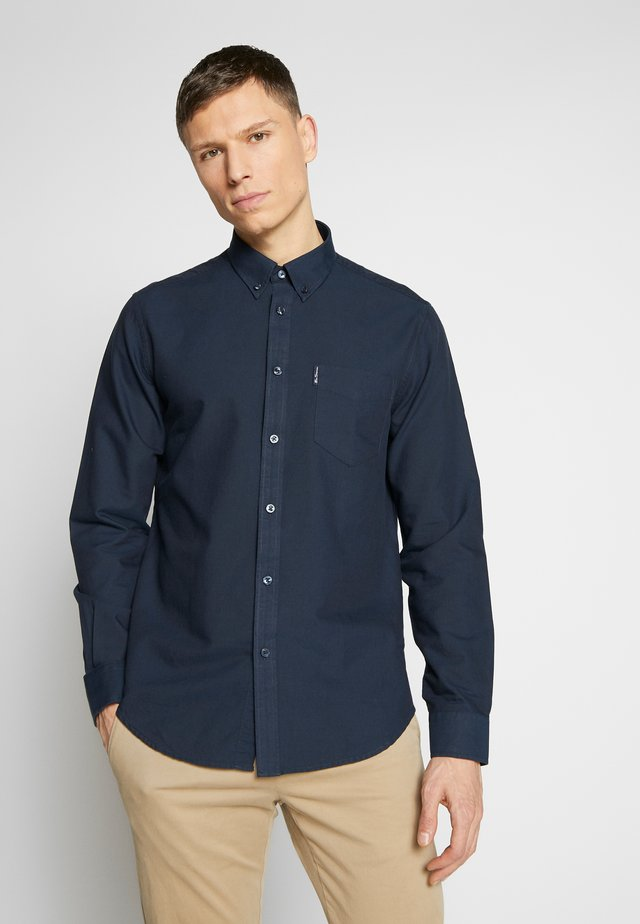SIGNATURE OXFORD SHIRT - Hemd - navy