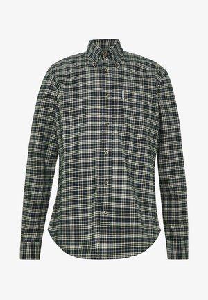 OXFORD CHECK SHIRT - Overhemd - dark navy