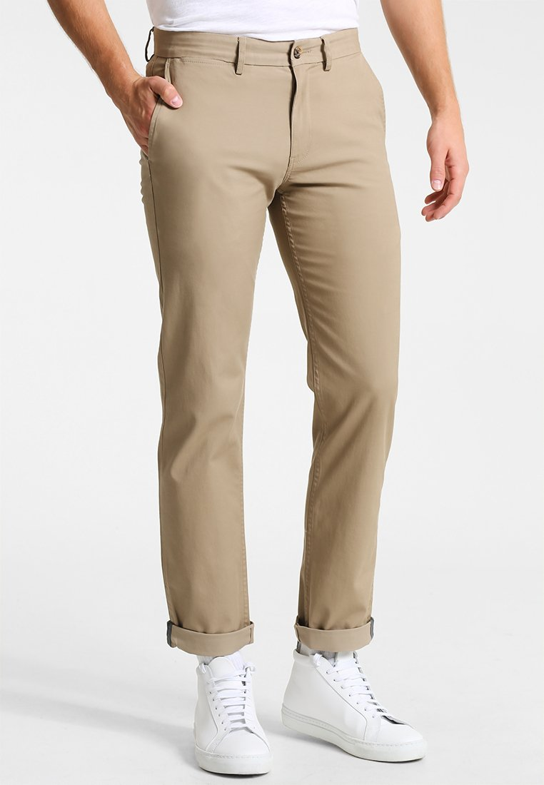 Ben Sherman - SLIM STRETCH - Chino - stone