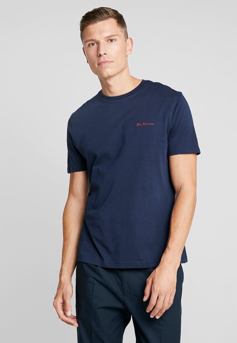 Ben Sherman - LOGO TEE - T-Shirt basic - dark navy