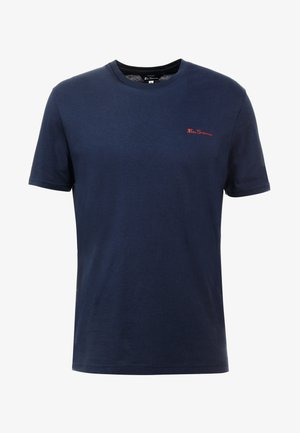 LOGO TEE - T-shirt basic - dark navy