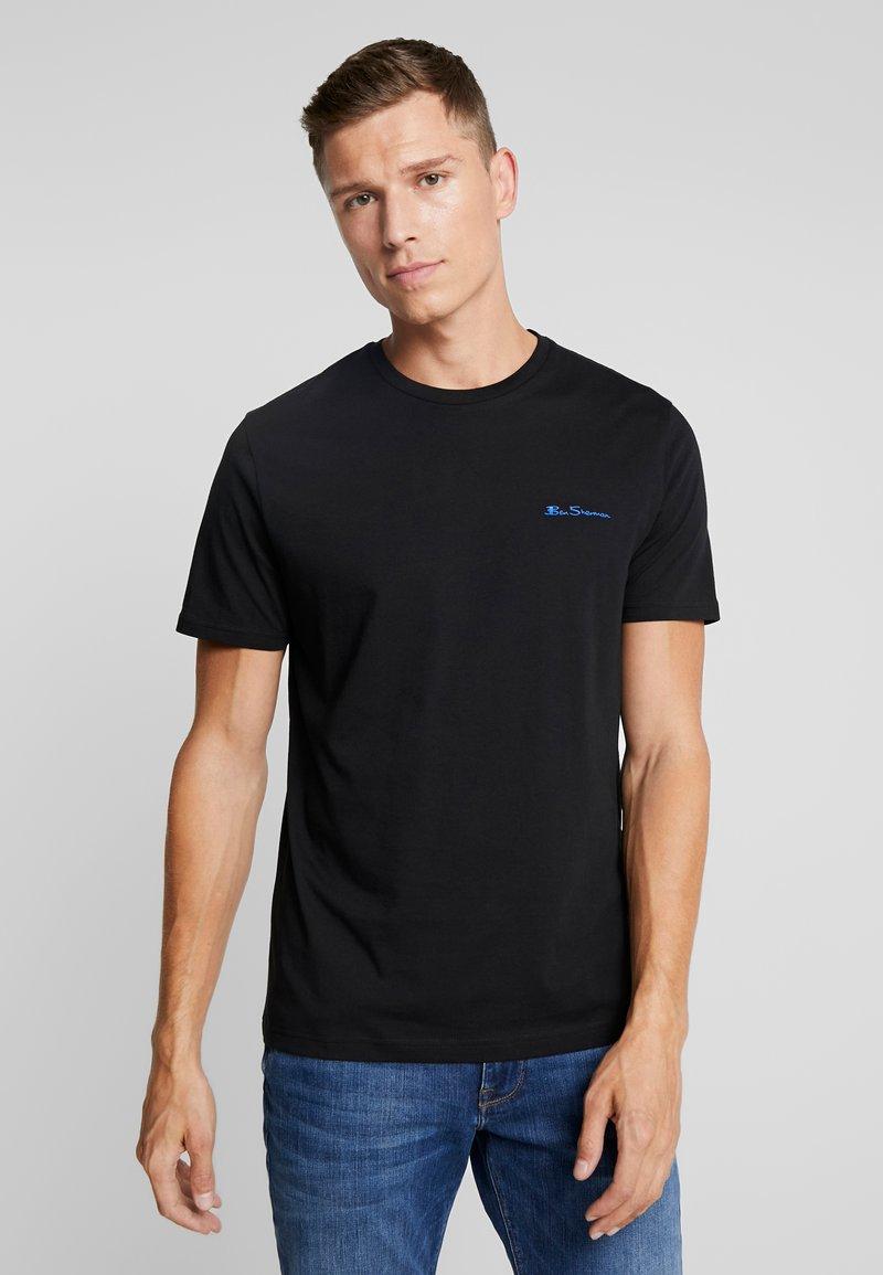 Ben Sherman - LOGO TEE - Basic T-shirt - black