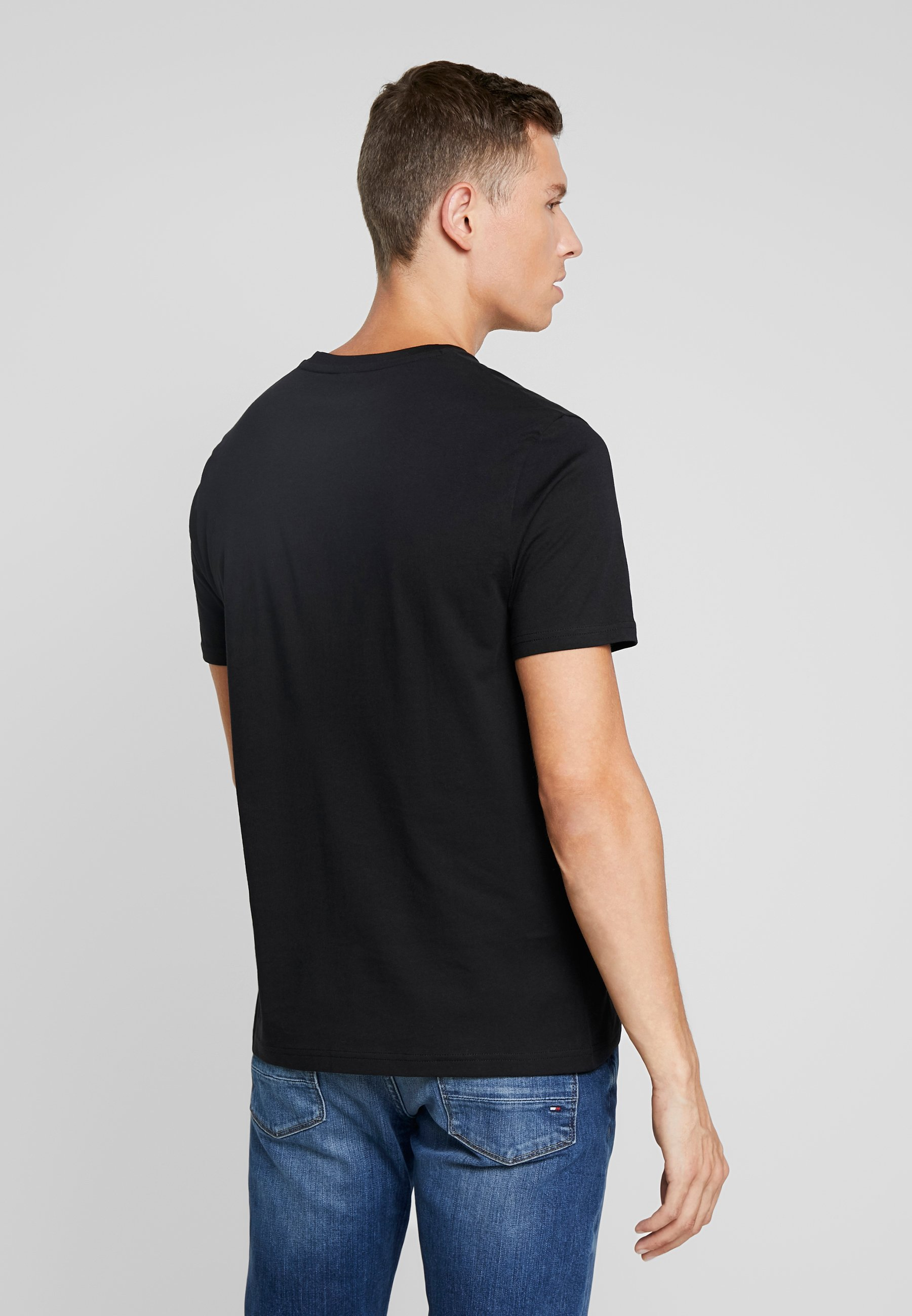 Ben TeeT shirt Black Sherman Logo Basique QxBCtdhros