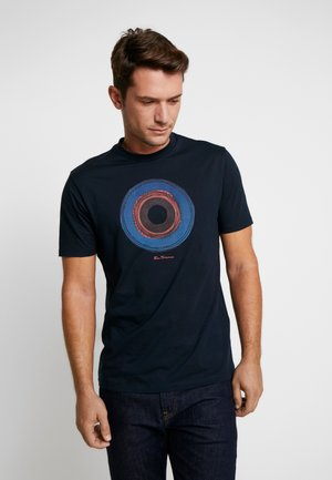 TARGET SKETCH TEE - T-shirt con stampa - midnight