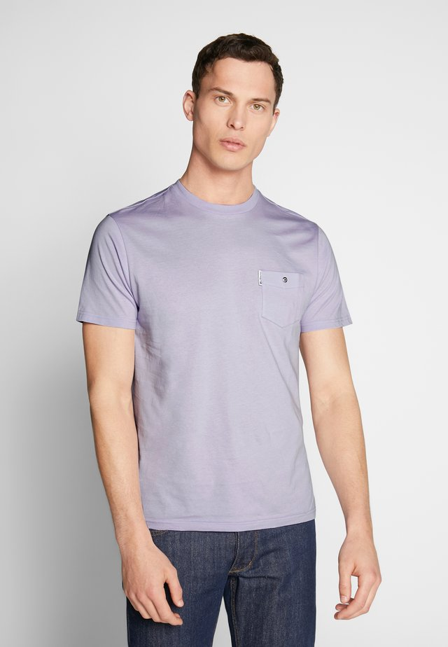 SIGNATURE TEE - T-Shirt basic - lilac