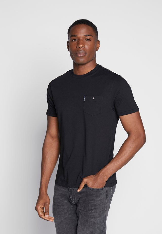 SIGNATURE TEE - Basic T-shirt - black