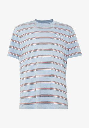 VINTAGE STRIPE TEE - T-shirt print - dusky blue