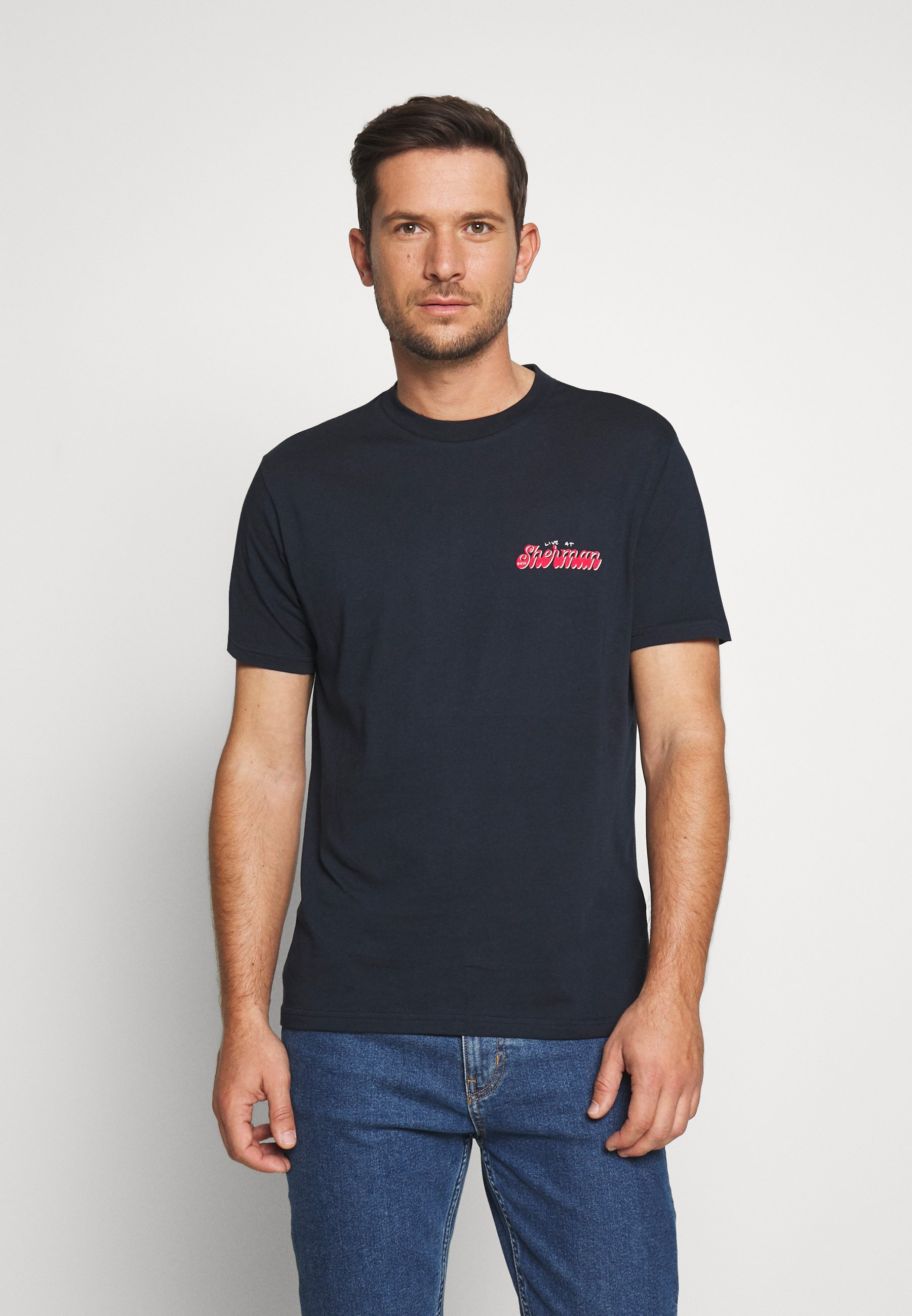 Ben Sherman Sunrise Tee - T-shirt Imprimé Dark Navy