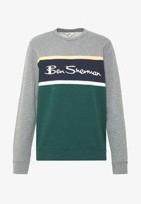 Ben Sherman - COLOUR BLOCKED LOGO - Sweatshirt - steel - 3