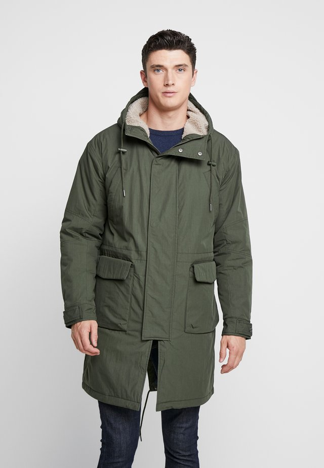 FISHTAIL - Parka - dark green