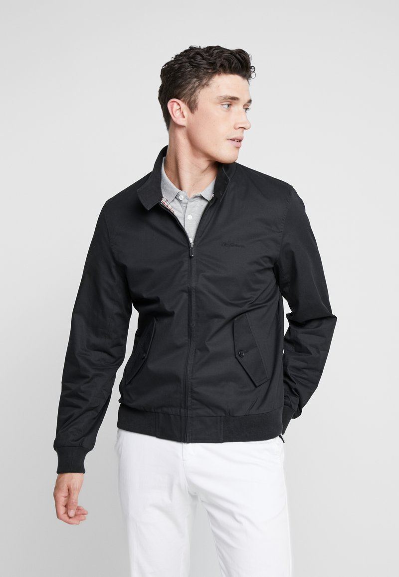Ben Sherman - HARRINGTON - Bomberjacks - black