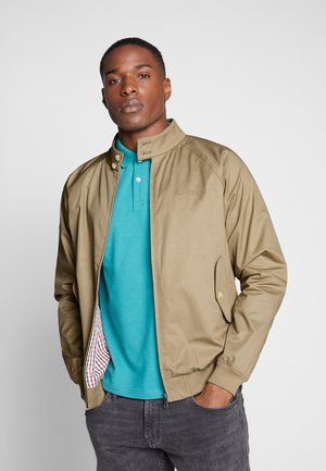 SIGNATURE HARRINGTON - Summer jacket - sand