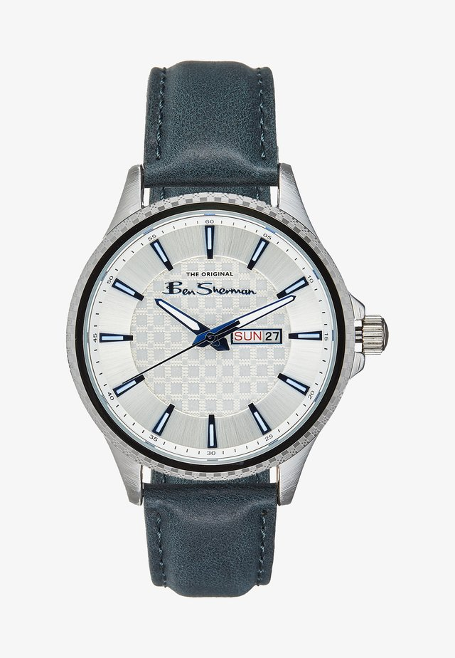 Horloge - silver-coloured/blue