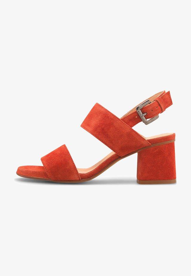 VELOURS - Sandals - rot