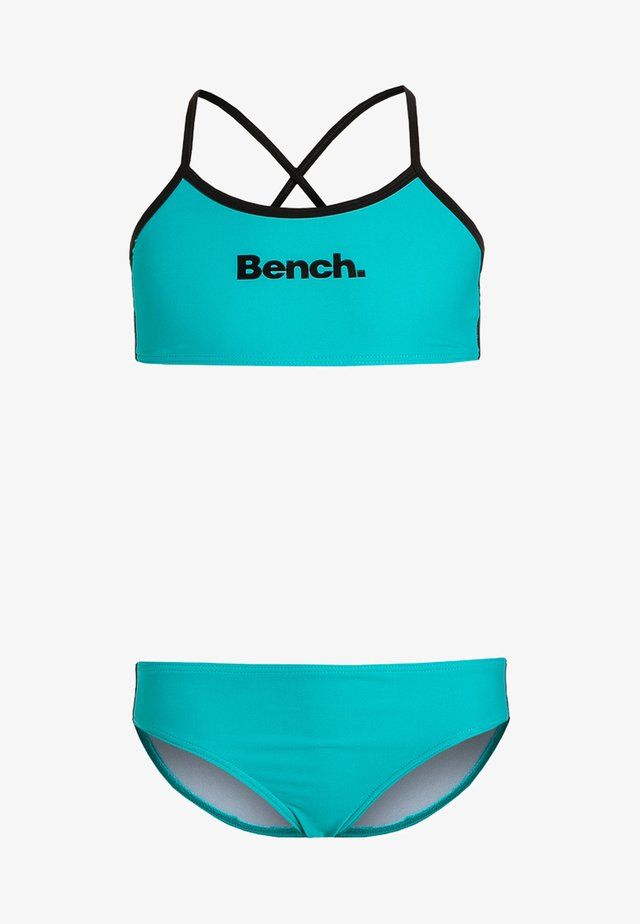 Bikinier - turquoise/black