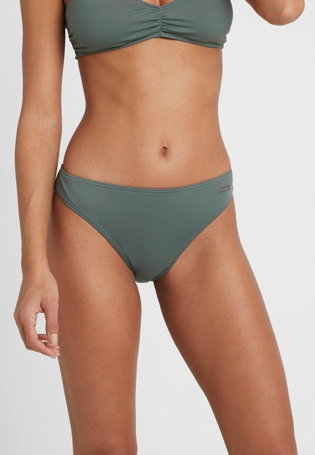 Bikiniunderdel - oliv solid