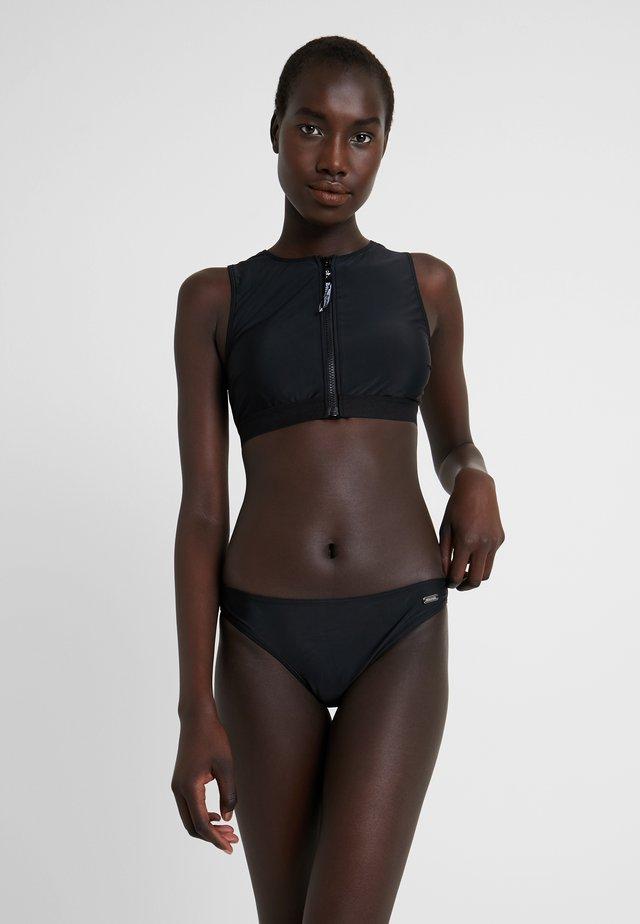 BUSTIER SET - Bikini - black solid