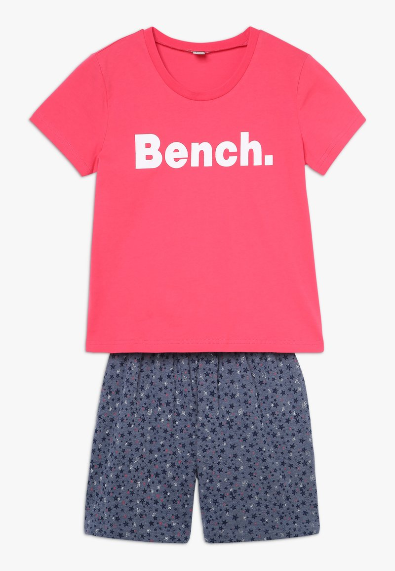 Bench - SHORTY - Nachtwäsche Set - coral/dark blue