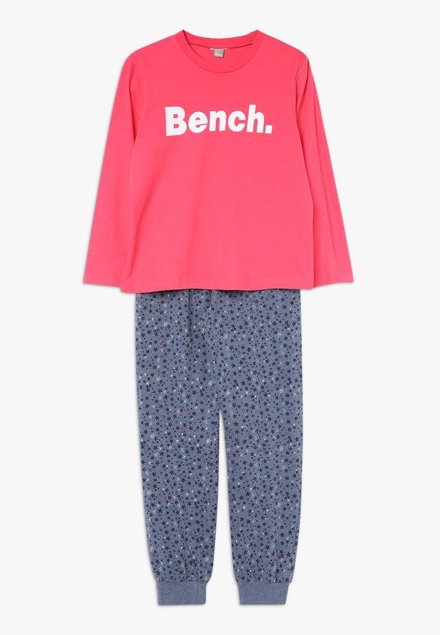 Pyjama - coral/dark blue