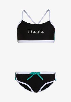 Bikini - black/mint