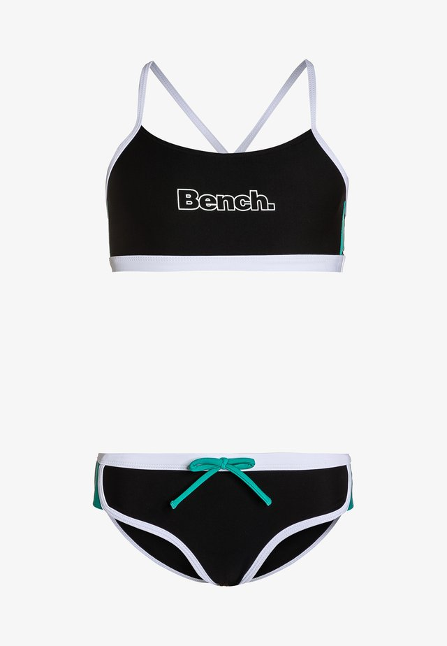 Bikiny - black/mint