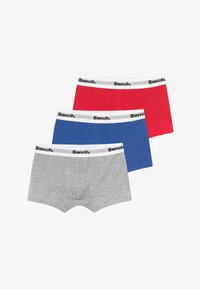 Bench - BOXER 3 PACK - Shorty - grey/red/blue - 3