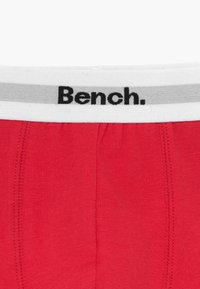 Bench - BOXER 3 PACK - Shorty - grey/red/blue - 4