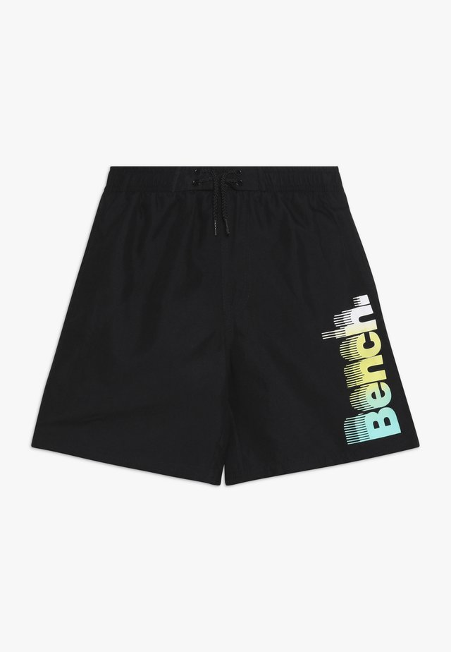 DIVE BENCH - Badeshorts - black