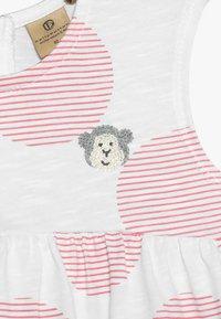 bellybutton - Vestido ligero - white/pink - 4