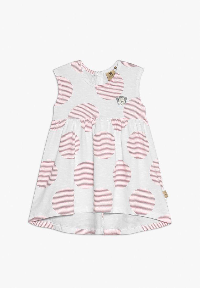 bellybutton - Vestido ligero - white/pink
