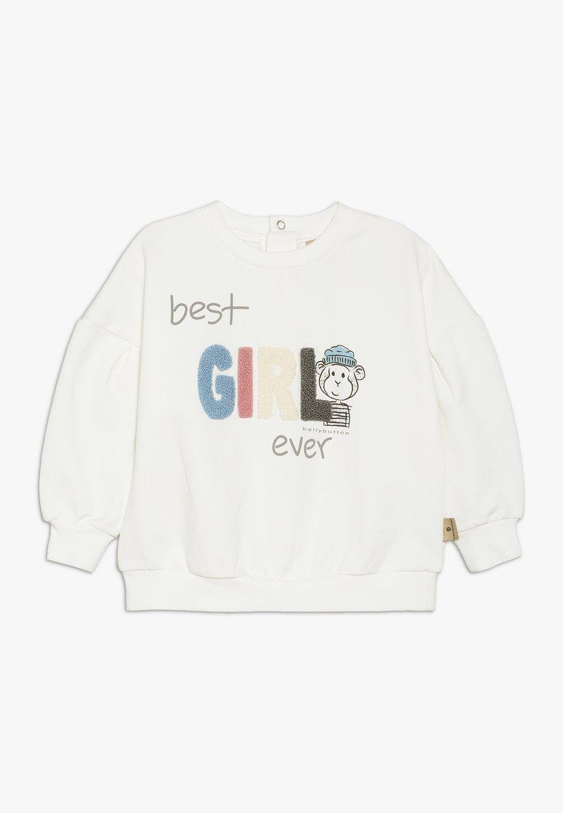 bellybutton - BABY - Sweatshirt - gardenia/white
