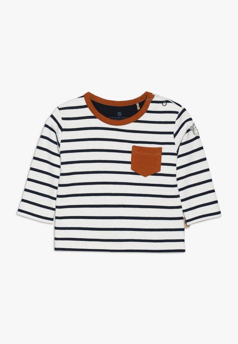 bellybutton - 1/1 ARM BABY - T-shirt à manches longues - white/dark blue